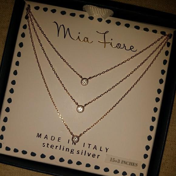 mia fiore Jewelry Mia Fiore Rose Gold Over Sterling Silver
